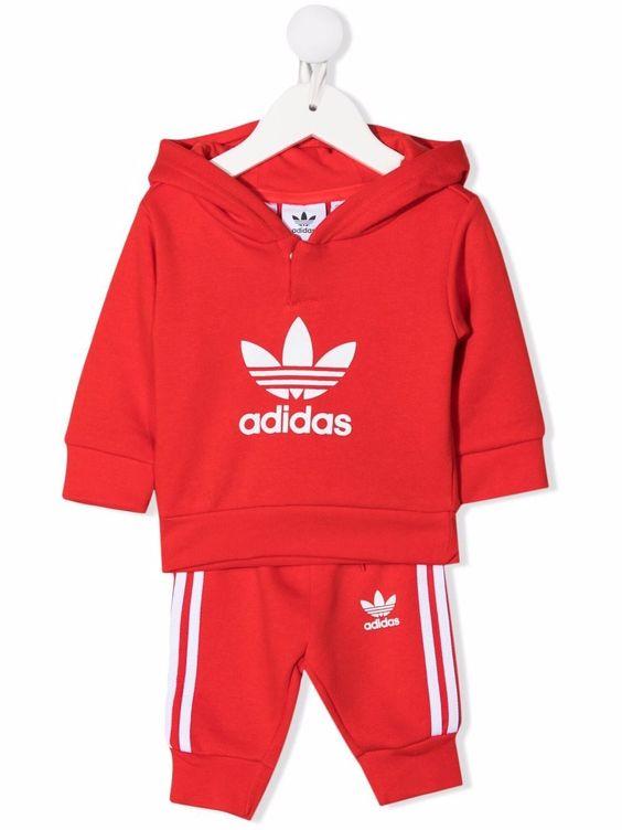 trening rosu Adidas Originals copii
